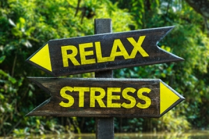 Relax and stress signs